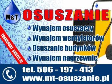 MT Osuszanie Monika Sztyk - Wypożyczalnia Zagęszczarek Warszawa
