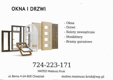 Mateo Mateusz Kruk - Okna Budzyń
