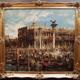 Impresjonizm Wenecja Plac św. Marka Mega obraz