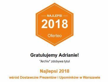 """""""Archiv"""" - Świąteczne Paczki Warszawa"""