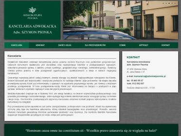 Kancelaria Adwokacka adw. Szymon Psonka - Sprawy procesowe Stalowa Wola