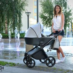 Wózek dziecięcy wielofunkcyjny Emotion XT marki Lonex