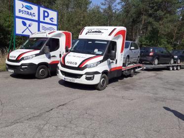 Na lawecie Marek Szkutnik - Transport samochodów Stalowa Wola