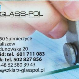 GLASS-POL JACEK FILIPCZAK,DAWID RYBA SPÓŁKA CYWILNA - Usługi Szklarskie Benice