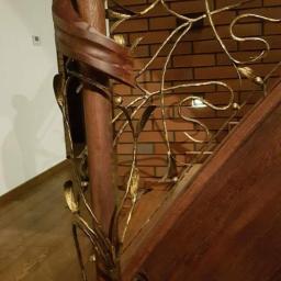 Schody drewniane Ołobok 9