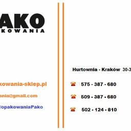 F.H.U. PAKO Tomasz Sałach - Zaopatrzenie lokali Kraków