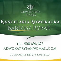 Kancelaria Adwokacka Adwokat Bartosz Rybak - Adwokat Mielec