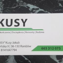 Jakub Kusy - Elewacje Raniżów