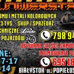 UNIWERSTAL SP. Z O.O. - Opony i felgi Białystok