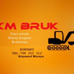 Krzysztof Murzyn KM Bruk - Roboty ziemne Wiśniowa