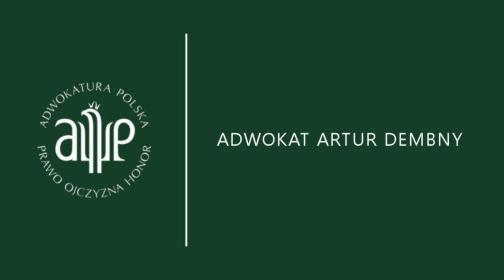 Kancelaria Adwokacka Artur Dembny - Adwokat Kępno