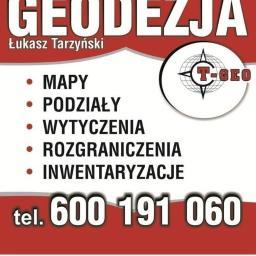 Usługi Geodezyjno-Kartograficzne T-GEO Łukasz Tarzyński - Firma Geodezyjna Ciechocinek