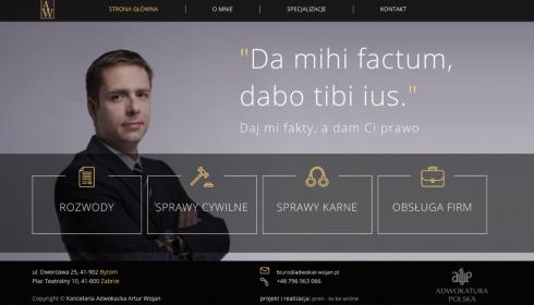 Kancelaria Adwokacka Artur Wojan - Usługi Prawnicze Zabrze