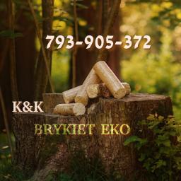 Brykiet Milówka K&K - Brykiet drzewny Milówka