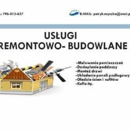Usługi remontowo -budowlane - Ocieplanie Pianką PUR Orle