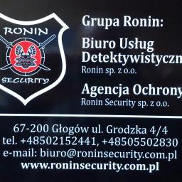 Biuro Usług Detektywistycznych RONIN sp z o.o. - Agencja ochrony Wrocław