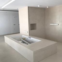 łazienka w systemie mikro cementowym