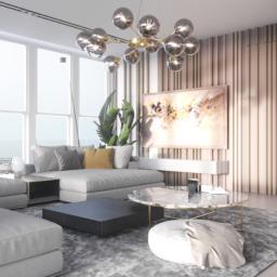 Projekt wnętrza apartamentu w Szczecinie