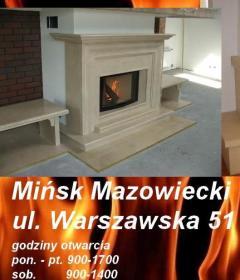 MTM KOMINKI s.c. - Piece z Podajnikiem Mińsk Mazowiecki