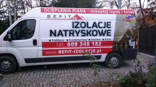 BEFIT Izolacje natryskowe - Ocieplanie Pianką PUR Milanówek