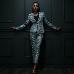 Karolina Budzyńska - projektant ubioru - Garnitur Szyty na Miarę Kętrzyn