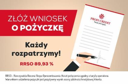 Profi Credit - Kredyt gotówkowy Bielsko-Biała