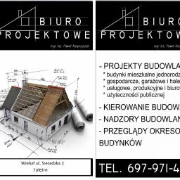 Usługi Projektowo-Budowlane Paweł Kasprzyczak - Projektowanie konstrukcji stalowych Wieluń