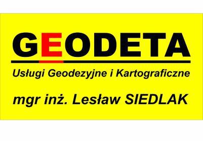 """""""GEODETA"""" mgr inż. Lesław Siedlak - Firmy budowlane Panki"""