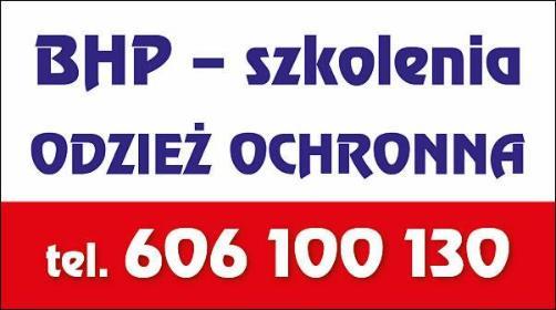 BHP Szkolenia - Sprzedaż Odzieży Kluczbork
