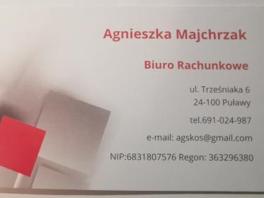 Biuro Rachunkowe Agnieszka Majchrzak - Kadry Puławy