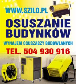 Szilo Fachowe Osuszanie Budynków Poznań - Osuszanie, odgrzybianie Poznań