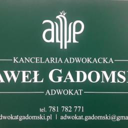 Kancelaria Adwokacka Adwokat Paweł Gadomski - Adwokat Rzeszów