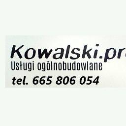 Kowalski.pro Usługi ogólnobudowlane, Malowanie natryskowe - Firmy budowlane Toruń