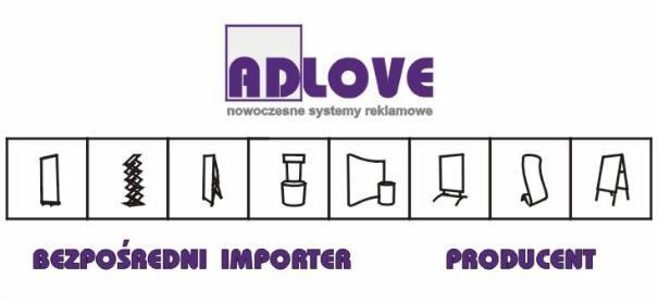ADLOVE WÓLCZYŃSKA - Materiały reklamowe Warszawa