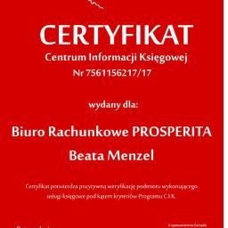 BIURO RACHUNKOWE PROSPERITA BEATA MENZEL - Usługi podatkowe Kędzierzyn-Koźle