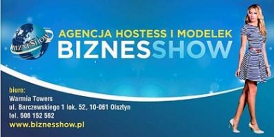 Agencja Hostess i Modelek Biznesshow - Logo Firmy Olsztyn