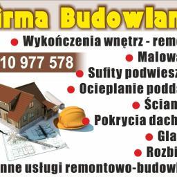 Firma budowlana - Ocieplanie Pianką Zawiercie