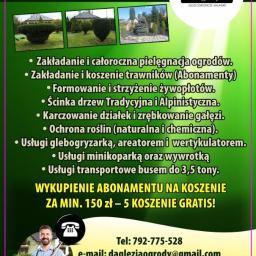 Daglezja Usługi Ogrodnicze - Remonty biur Łękawica