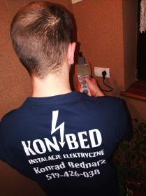 """""""KON-BED"""" INSTALACJE POMIARY ELEKTRYCZNE Konrad Bednarz - Alarmy Żywiec"""
