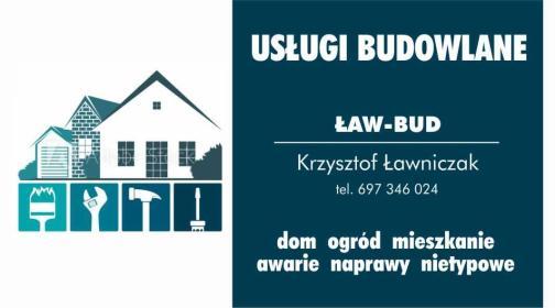 ŁAW-BUD - Remonty mieszkań Wierzchowo