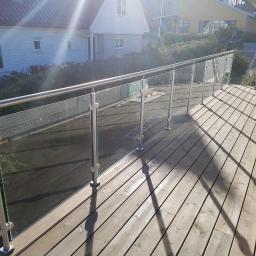 Taras i schody