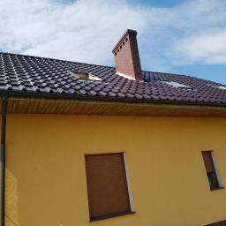 Wymiana membrany i dachówki ( prostowanie dachu)
