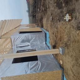 Drewniany dom szkieletowy