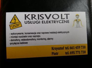 KRISVOLT - Instalacje Grębocice