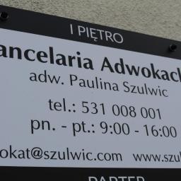 Kancelaria Adwokacka Adwokat Paulina Szulwic - Adwokat Kielce