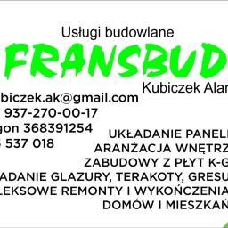 Usługi budowlane Fransbud Alan Kubiczek - Firma remontowa Hecznarowice