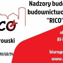 """Nadzory Budowlane ,,RICO"""" - Kosztorysy, ekspertyzy Suchy dwór"""