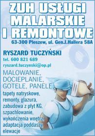 ZUH us艂ugi malarskie i remontowe - Firma Remontowo-budowlana Pleszew