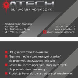 Atech Sławomir Adamczyk - Schody Metalowe Kazimierz Dolny