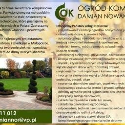 Projektowanie ogrodów Iwanowice Włościańskie 1
